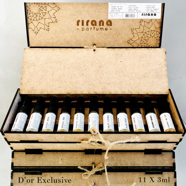 Rirana Discovery Set 11 X 3ml / .10oz