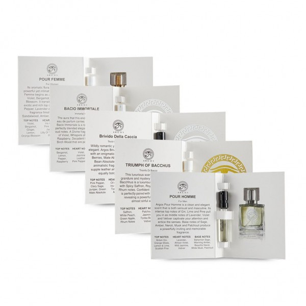 Argos Discovery Sample Set of 5 Fragrance